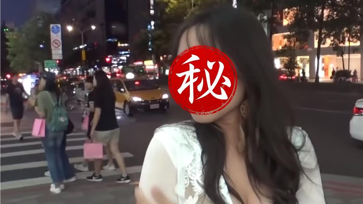 東區超胸正妹竟是海軍!網暴動:很想簽下去
