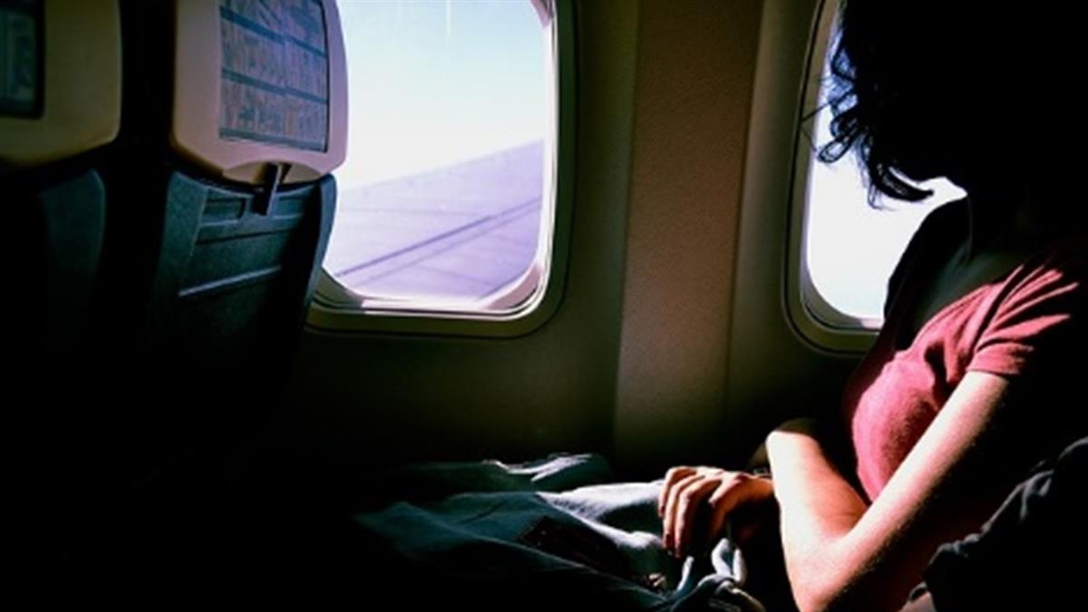 鄰座女太美…他飛機上起色心 撕內褲硬上