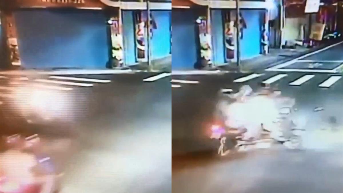 無照闖紅燈!17歲少年飆速躲警 撞死25歲男