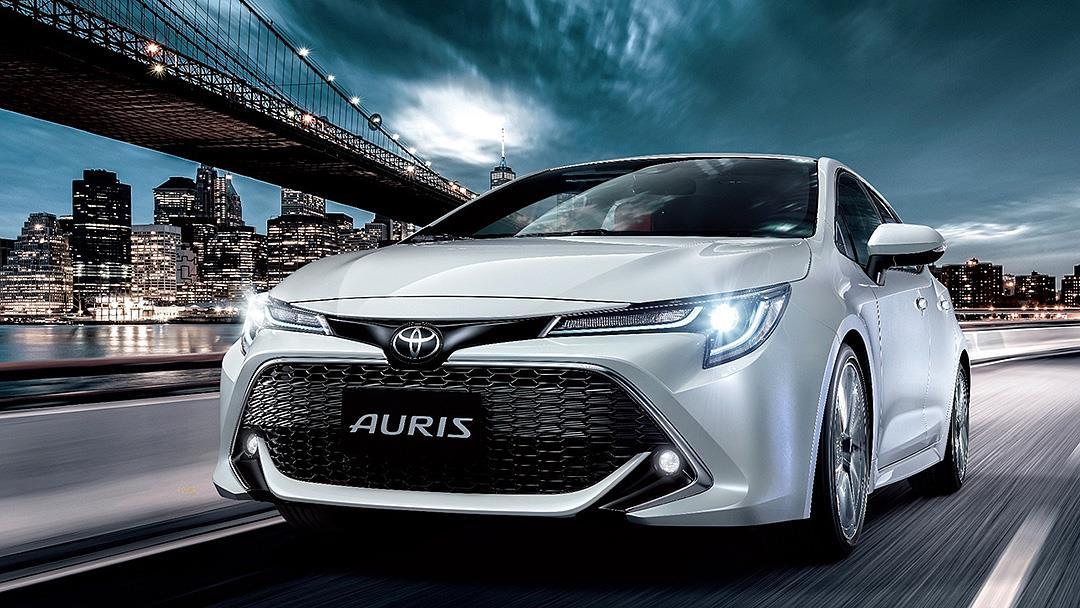新年式 Toyota Auris 升級標配 TSS 2.0 ,全速域 ACC 全面植入