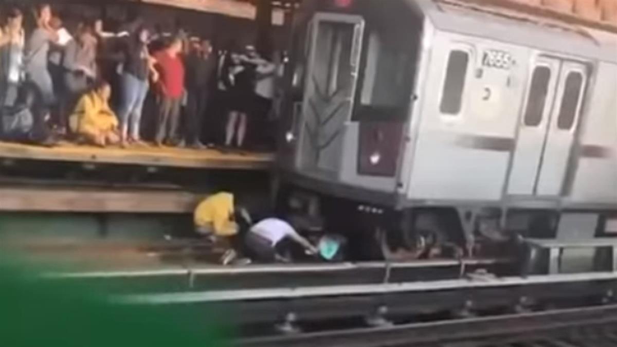 突然掉下鐵軌!爸遭列車攔腰斬…她奇蹟倖存
