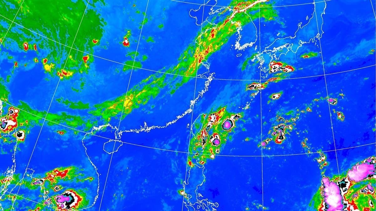 小心!東北風挾水氣 明天這5縣市防豪大雨