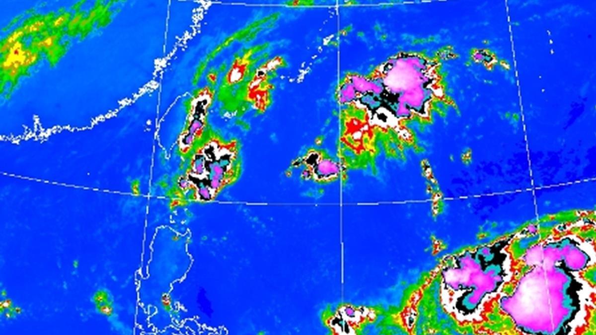 米塔颱風路徑曝!緊貼台灣北上 這五區防豪大雨