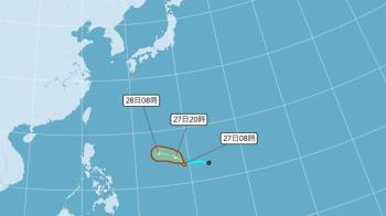 6縣市注意豪雨 颱風米塔最快今天形成