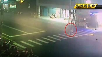 過馬路遭撞飛3米!婦腦出血 護衝出醫院幫CPR