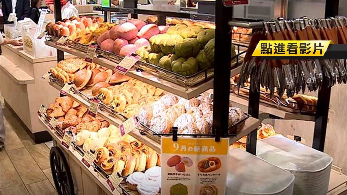 大阪最賺錢麵包花車 一天熱銷20萬日幣
