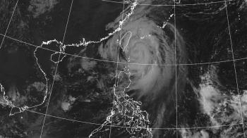 中颱米塔恐增強西偏 14縣市大豪雨特報