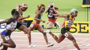 2短跑女將升格當媽 田徑世錦賽締造新紀錄