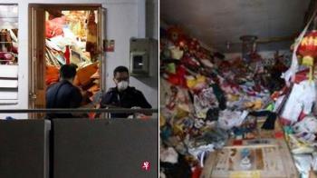 68歲男突爆瘦…1年後成腐屍 公寓清10車垃圾