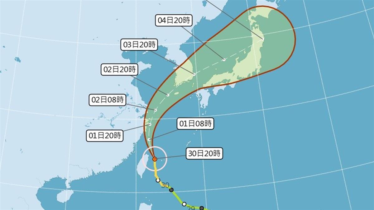 颱風入夜風雨增強!累計逾4萬戶停電 全台釀4傷
