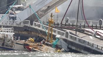 南方澳跨港大橋塌 國軍啟動水下搜救