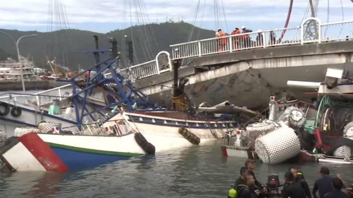 還原橋垮壓船那一刻! 移工躲船艙 逃船長室拍窗求救