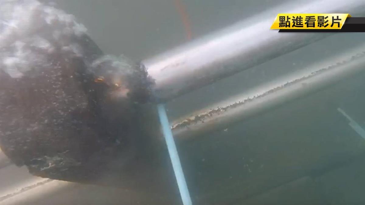 採切割! 估寬10m深4m航道 明午可望完成