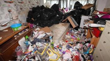 噁爆!惡房客留滿坑垃圾、人屎…房東崩潰