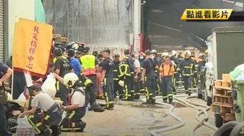 疑屋頂及樓地板塌陷 2消防員遭壓住無法逃生