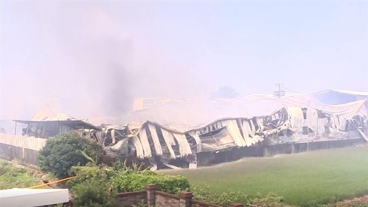 紙器廠大火燒兩命 整棟都是農地違建