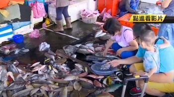 南方澳漁市半數攤商仍公休 逛買遊客少