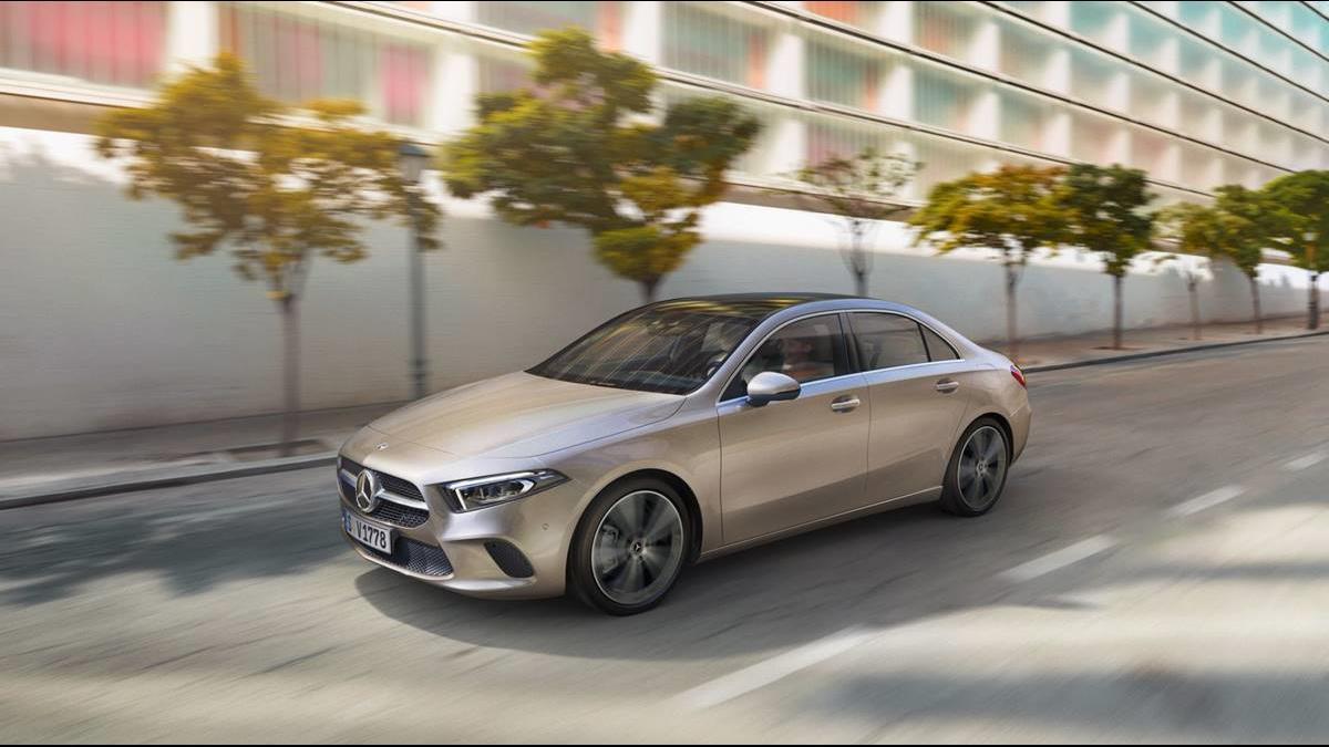 進口車入手超輕鬆 賓士「A-Class Sedan」親民價160萬起