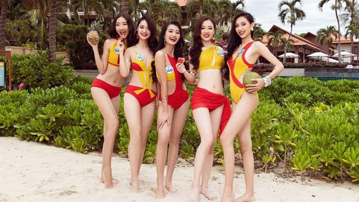2019越南選美大賽 越捷比基尼驚豔全場