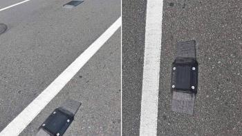 柏油OK繃?馬路鑲3黑方盒…內行人神解