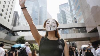 反抗!港人宣讀《臨時政府宣言》7訴求曝