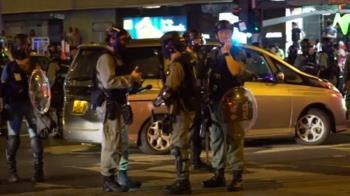 禁蒙面法實施首夜 多人蒙面示威被捕