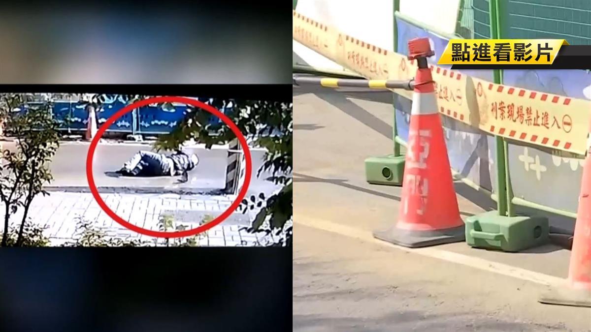 工地圍籬倒害騎士撞電桿身亡 包商被起訴