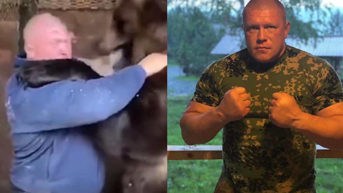 MMA選手打贏250公斤大熊 網嗆翻:熊在跟他玩