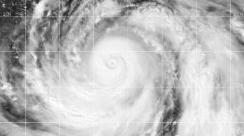 往北直撲!強颱哈吉貝持續增強 36年來最快猛颱