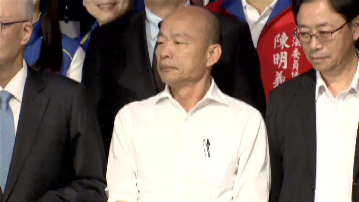 韓國瑜:台無法加入關稅同盟 下一步跟北韓一樣
