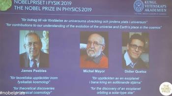 諾貝爾物理學獎得主 籲年輕科學家勿忘初衷