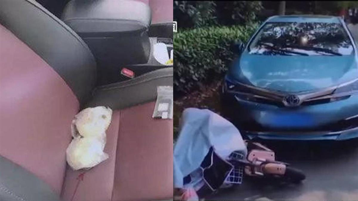 女駕駛彎腰撿饅頭!油門當煞車踩 輾斃20歲騎士