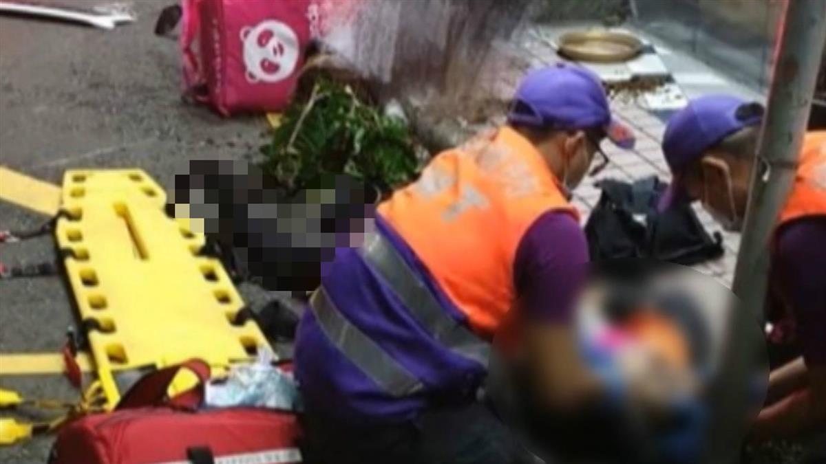 29歲外送員深夜送單 擦撞貨車噴飛…重傷亡