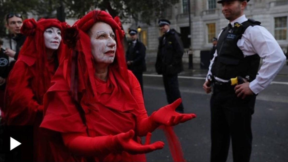 英國發起的氣候變化全球抗命運動:「反抗滅絶」的前世今生