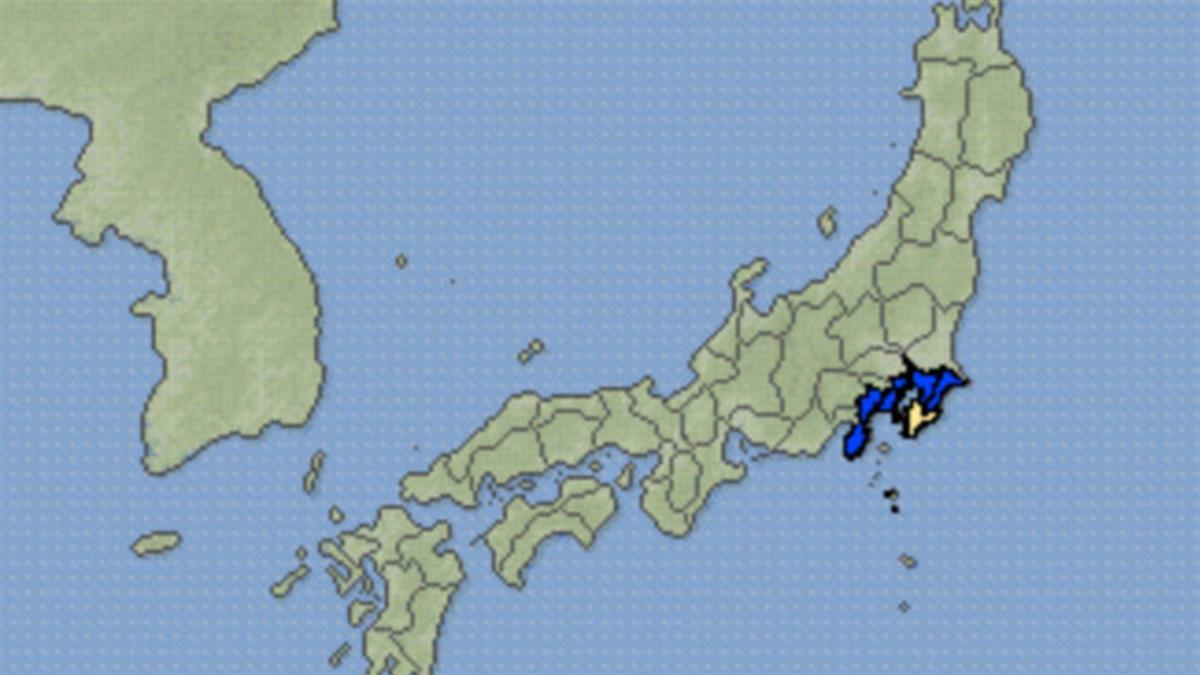 強颱來襲遇地牛翻身!日本千葉縣規模5.7地震