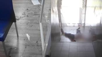 玩鬧追逐!男學生撞上玻璃門 遭割喉噴血亡