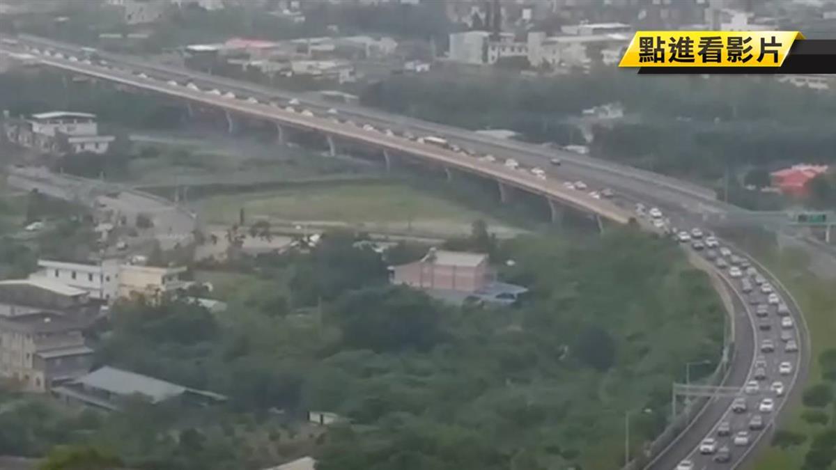 國慶收假!高公局曝光國道9大塞車地雷段