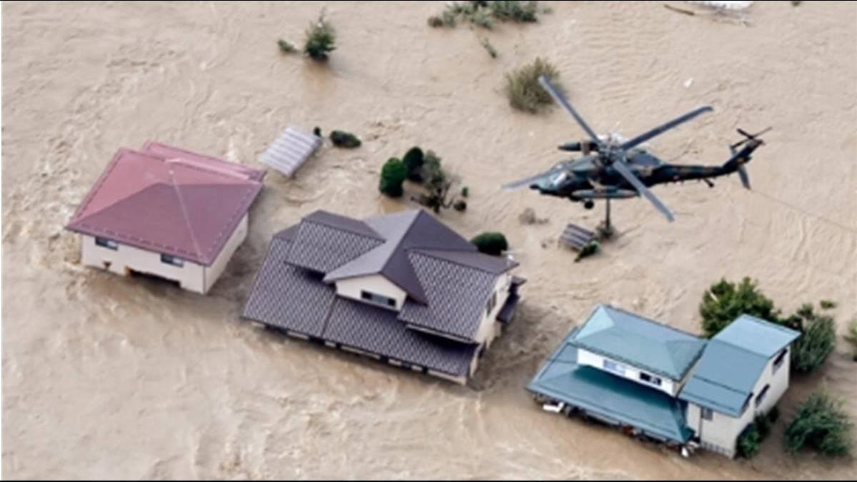 哈吉貝襲日61年來最強颱 重創釀災35死17失蹤