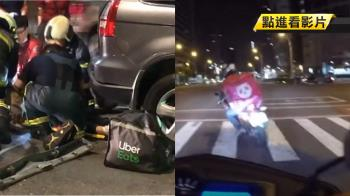 國慶連假2外送員死! 20歲男大生遭夾2車間亡