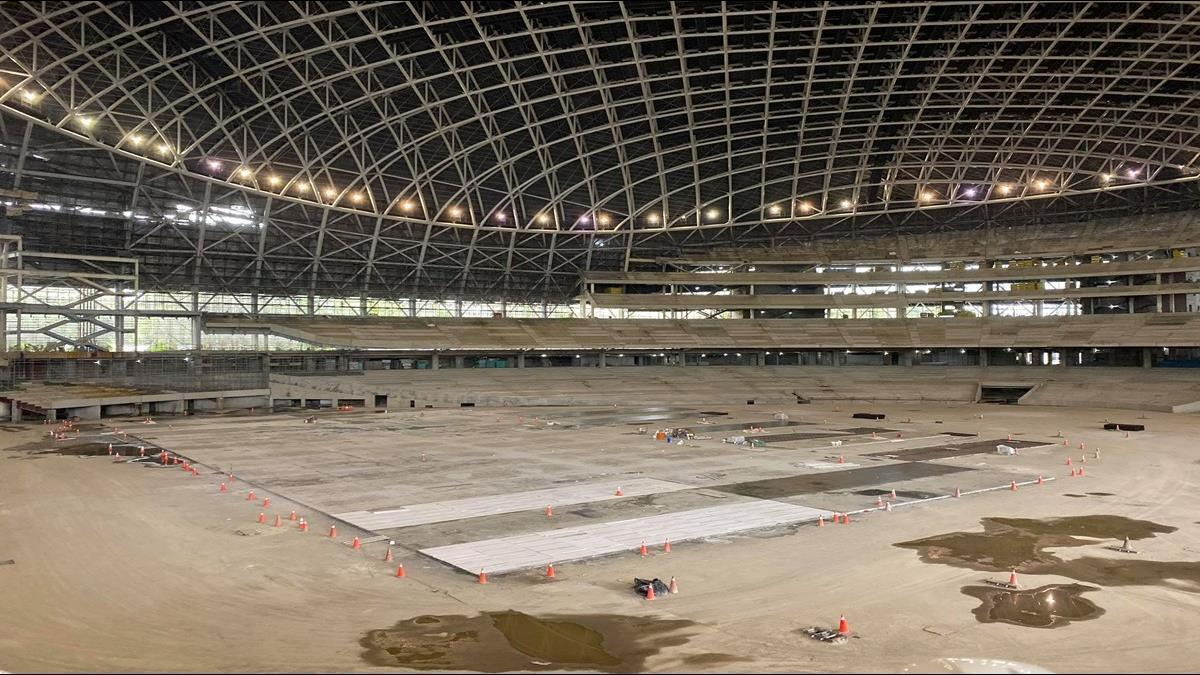 大巨蛋2022年前可能完工!防災模擬終於通過
