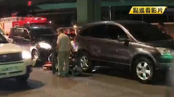 國慶連假外送員3天2死 男大生送餐遭兩車夾擊亡
