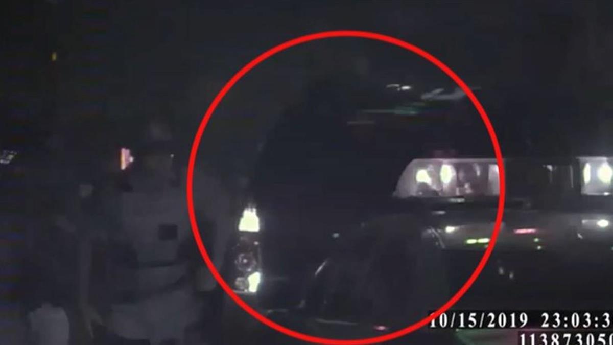 拒臨檢衝撞警車 嫌犯遭警開4槍仍逃逸