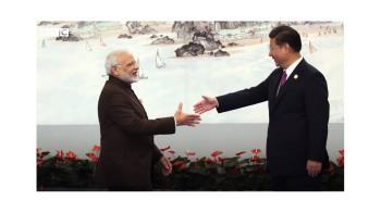習近平訪印度:亞洲大國同遭經濟病 分歧中萬事好商量?