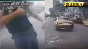 多元計程車遭小黃逼車!運將狂嗆:我在地的