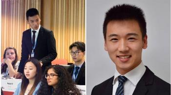 麥當勞下班接賀電!19歲台裔男成紐最年輕市議員