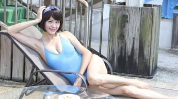 八點檔女星脫了 胸前濕一片…好尷尬