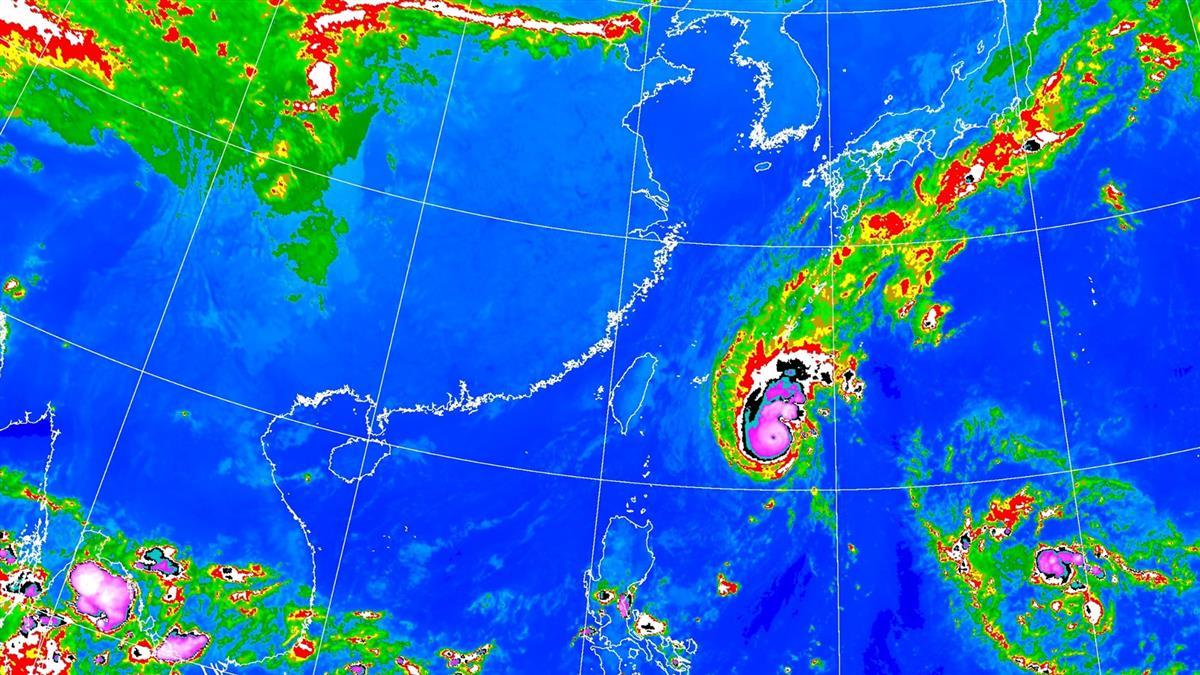 浣熊變中颱…第21號颱風生成!預測路徑曝光