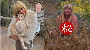 73歲女星曬全裸捧乳照慶生 網嚇壞:快穿上衣服