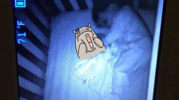 房間驚見鬼寶寶?媽盯監視器嚇壞 真相超反轉