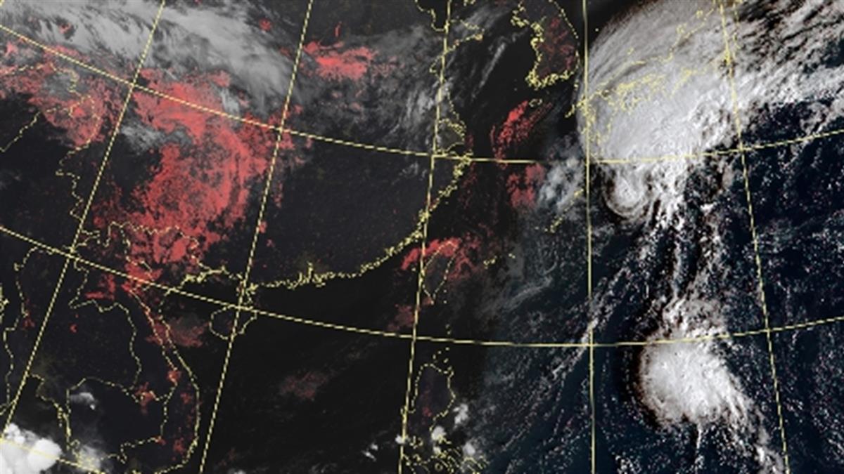 博羅依恐變強颱!這天起降雨漸增 最低溫下探19度